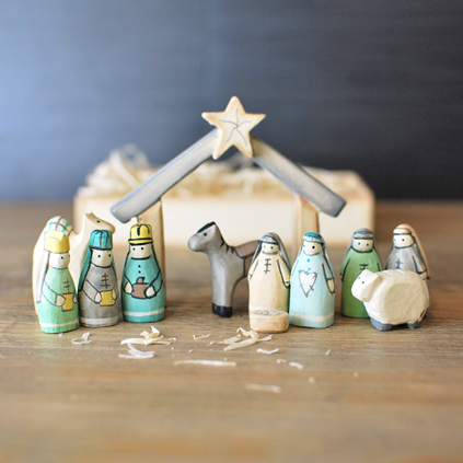 Personalised Nativity Character Set
