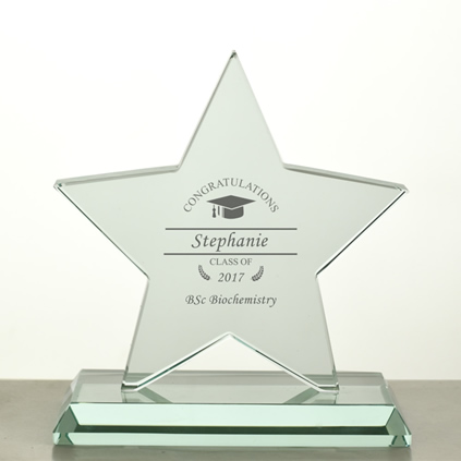 Personalised Graduation Trophy