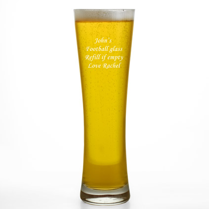 Personalised Pilsner Beer Glass 500 ml