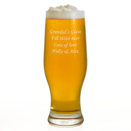 Personalised Imperial Beer Glass 500 ml