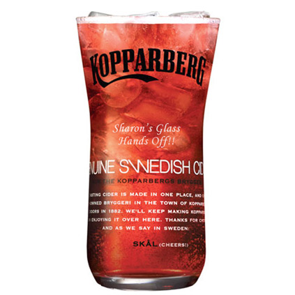 Personalised Kopparberg Glass 500 ml