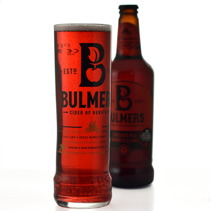 Personalised Bulmers Cider Pint Glass