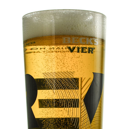 Personalised Becks Pint Glass