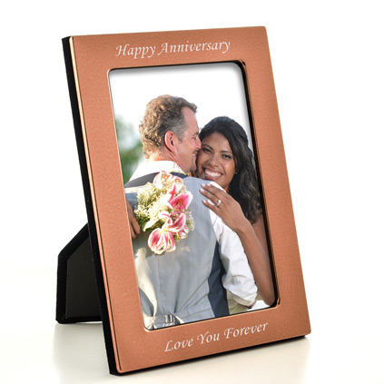 Personalised Copper Photo Frame