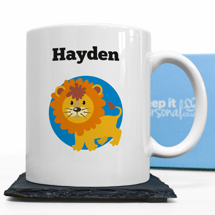 Personalised Mug - Lion