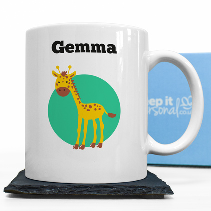 Personalised Mug - Giraffe