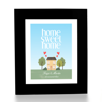 Personalised Print - Home Sweet Home