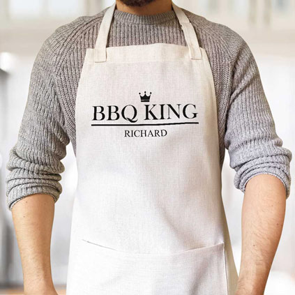Personalised Apron - BBQ King
