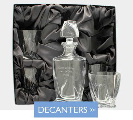 Engraved Decanters