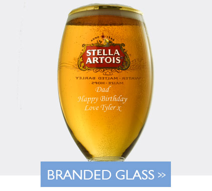 Personalised Branded Glassware