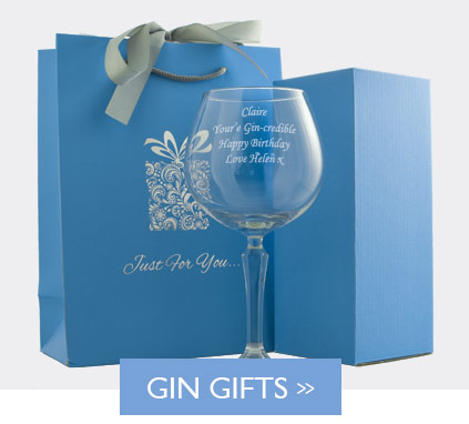 Personalised Gin Glasses