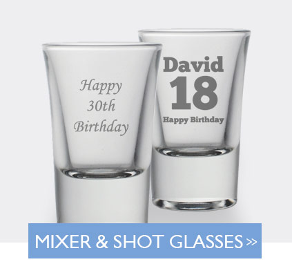Mixer And Shot Glasses