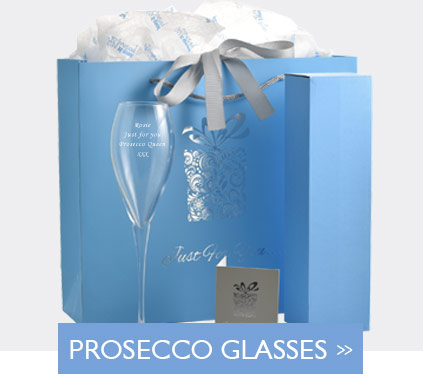 Personalised Prosecco Glasses