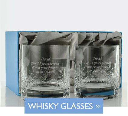 Engraved Whisky Tumblers