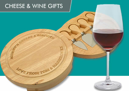 Cheese And Wine Gifts