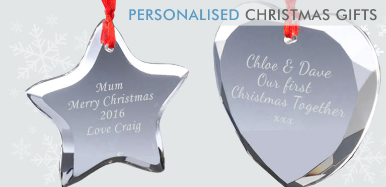 Personalised Engraved Christmas Gifts