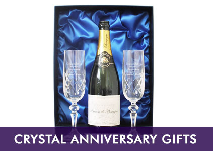Crystal Anniversary Gifts