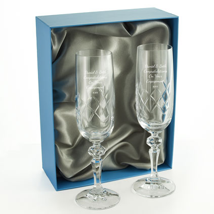 ef9a7fc50e1 Engraved Champagne Glasses and Flutes – Personalised Champagne Glass ...