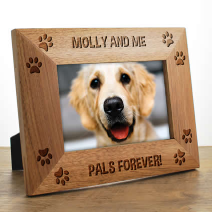 Dog Photo Frames Personalised - KeepItPersonal.co.uk