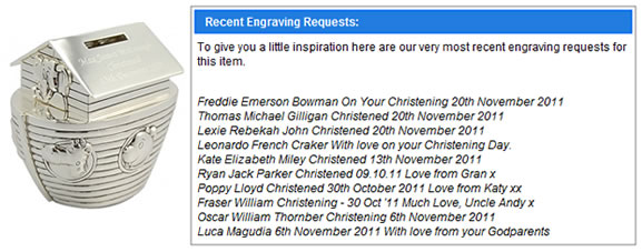 What To Engrave On A Christening Gift? - Keep It Personal