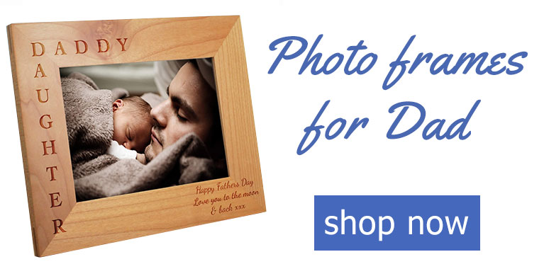 Personalised Dad Photo Frames