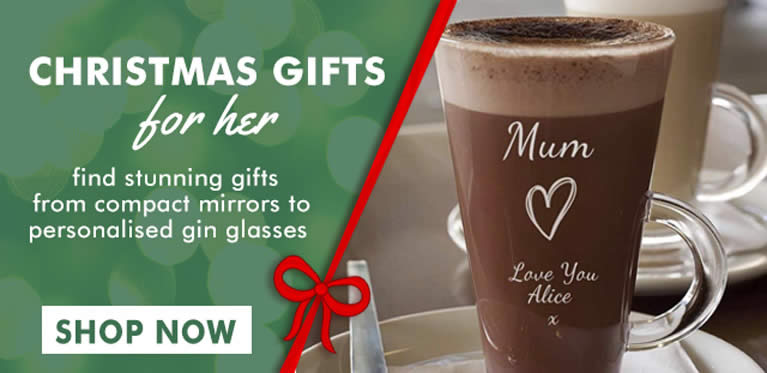 Christmas Gifts For Her Personalised And Engraved