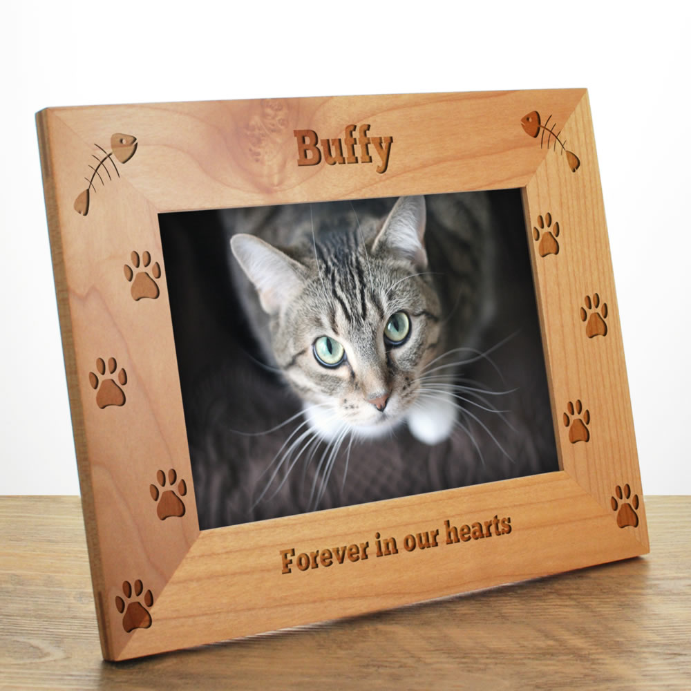 cat personalised photo frame 10613 1631274 keep it