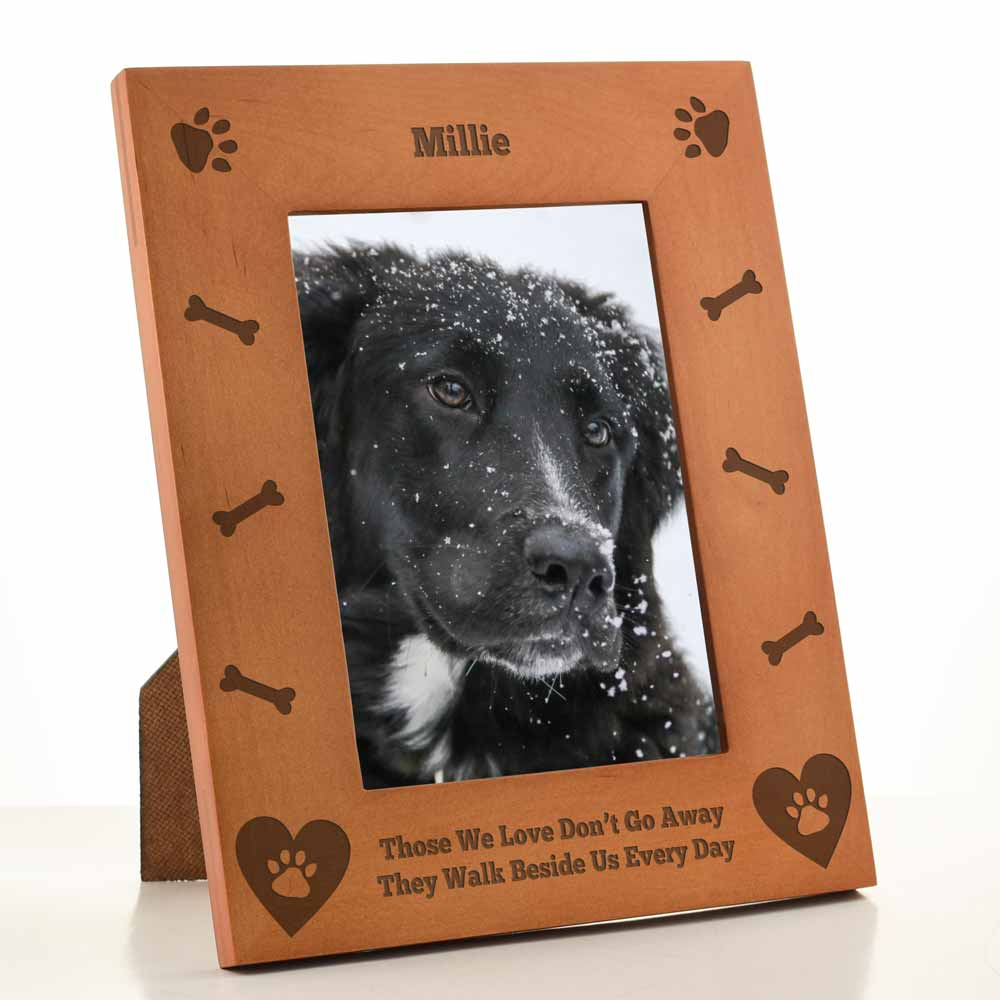 Dog Bone Personalised Photo Frame