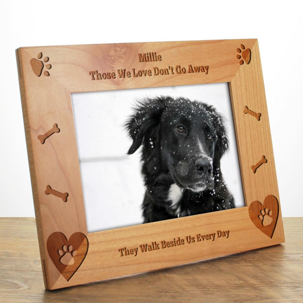 Dog Bone Personalised Photo Frame