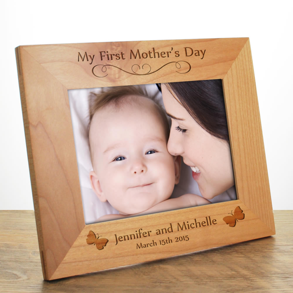 My First Mothers Day Personalised Frame