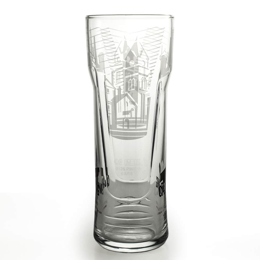 Personalised Carling Pint Glass