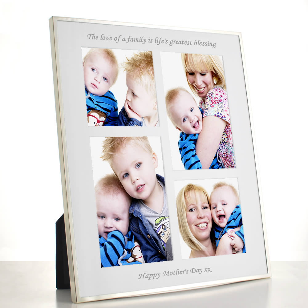 Personalised Luxury Collage Frame - Click Image to Close