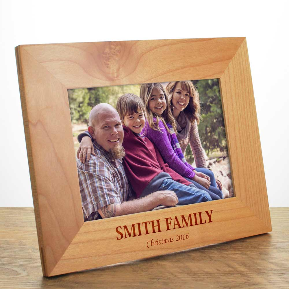 Personalised Family Name Photo Frame - Click Image to Close