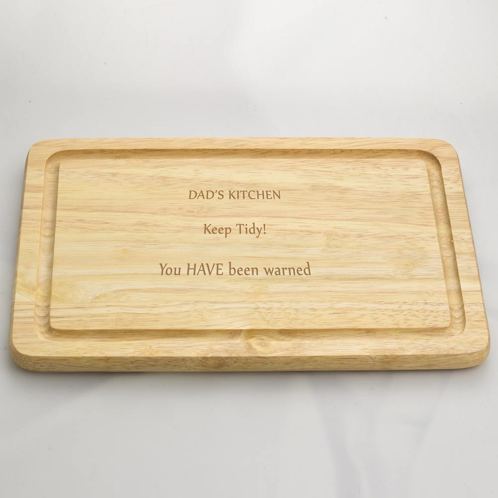 Personalised engraved wooden chopping board - Engraved wooden chopping boards ...