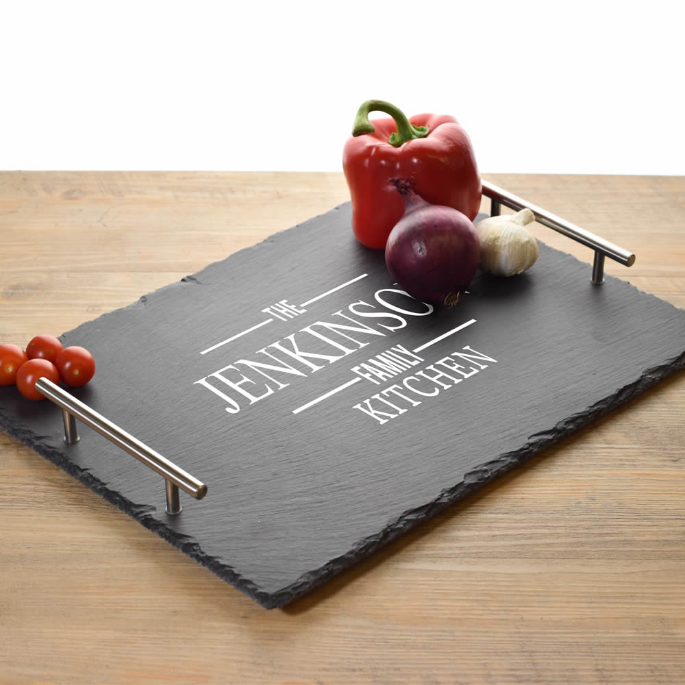 Personalised Slate Serving Tray - Click Image to Close