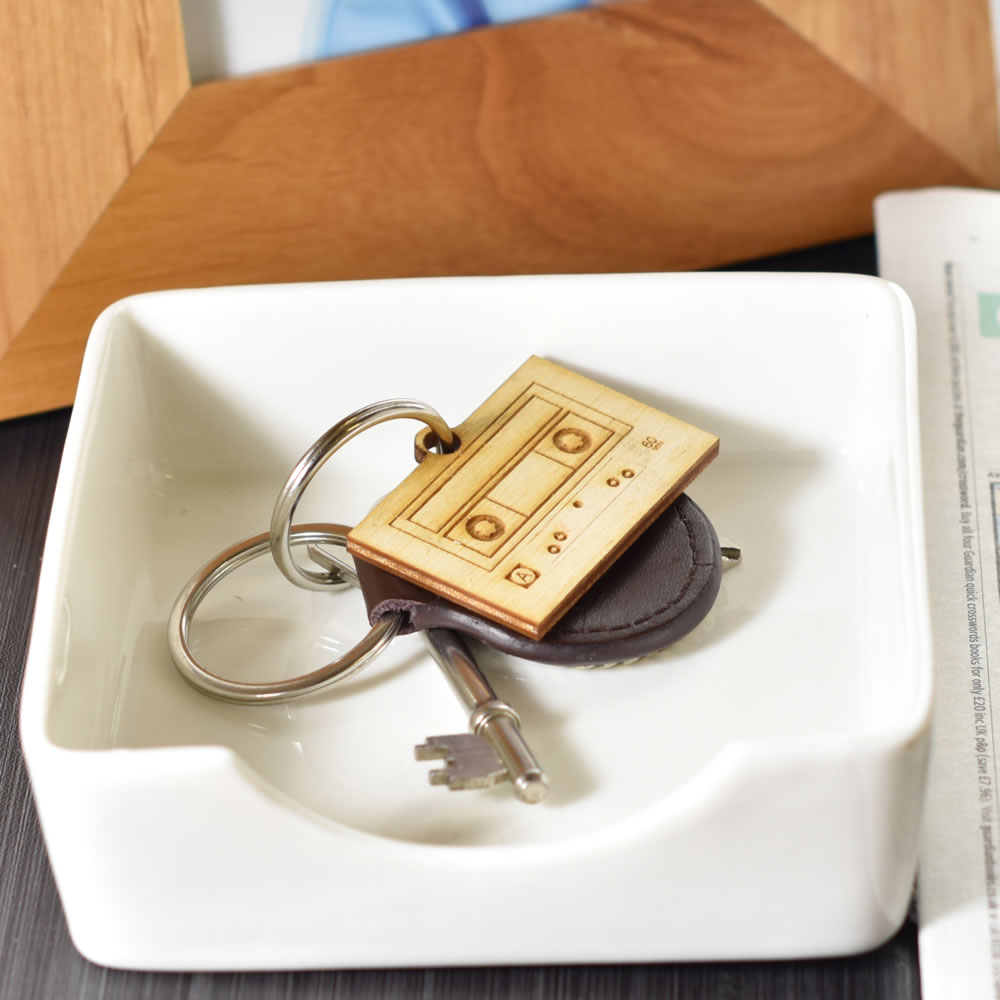 Personalised Mixtape Key Ring