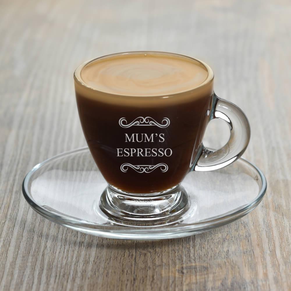 d35b55ad8cc Personalised Filigree Espresso Glass