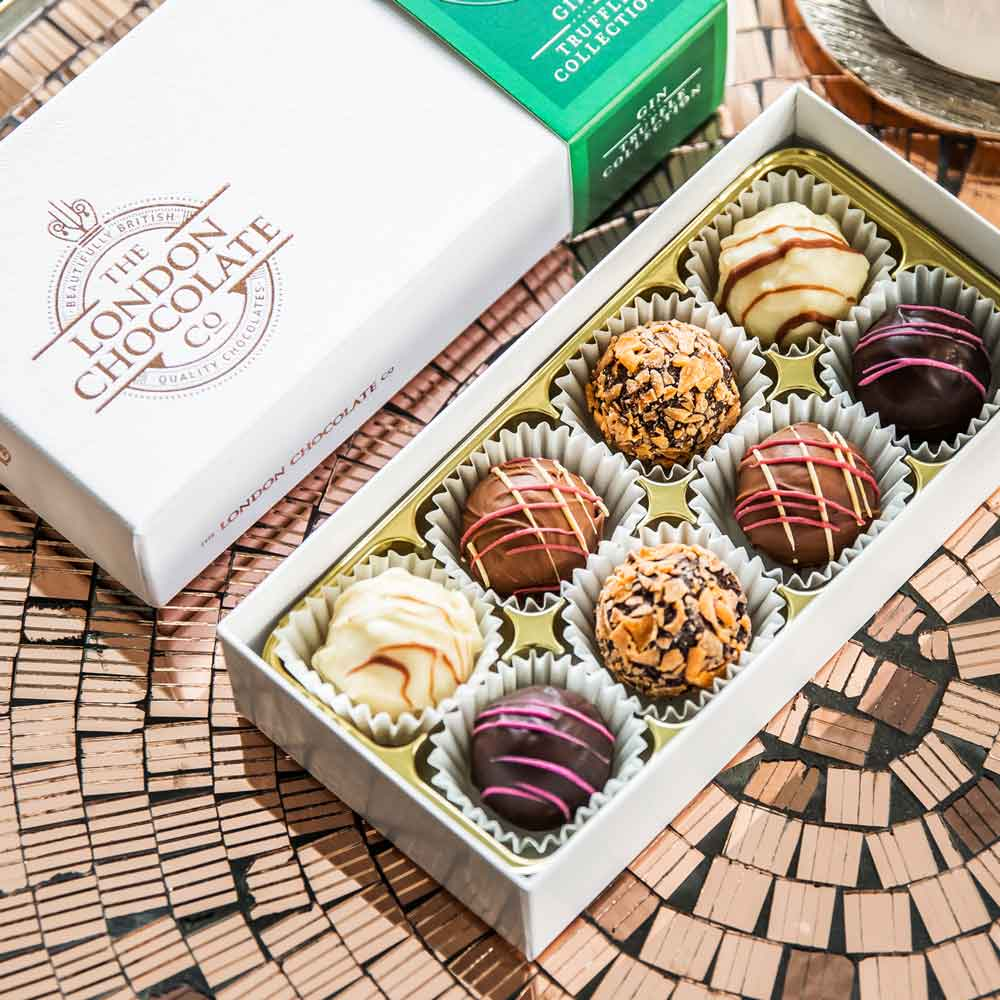 Quilted Cream Luxury Gift Box |Luxury Chocolate Box