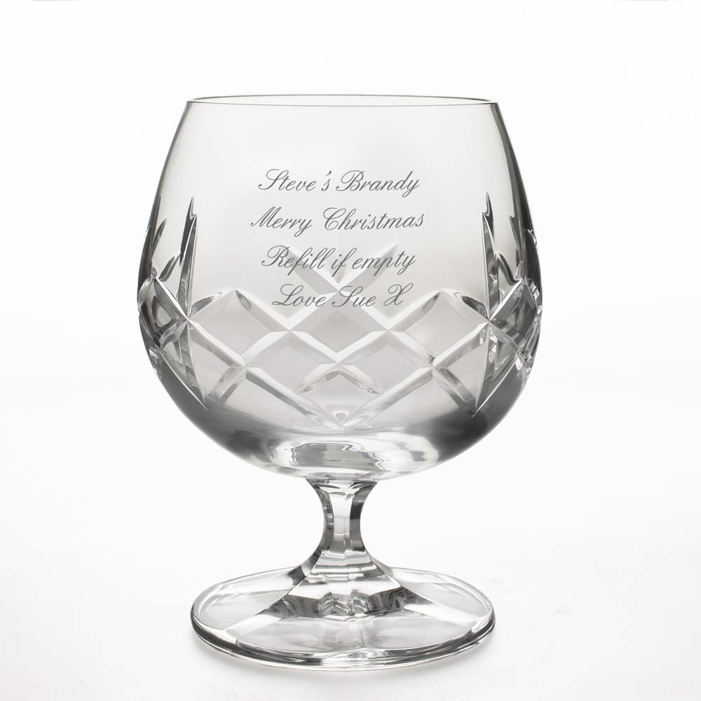 Crystal Glasses Wedding Gift