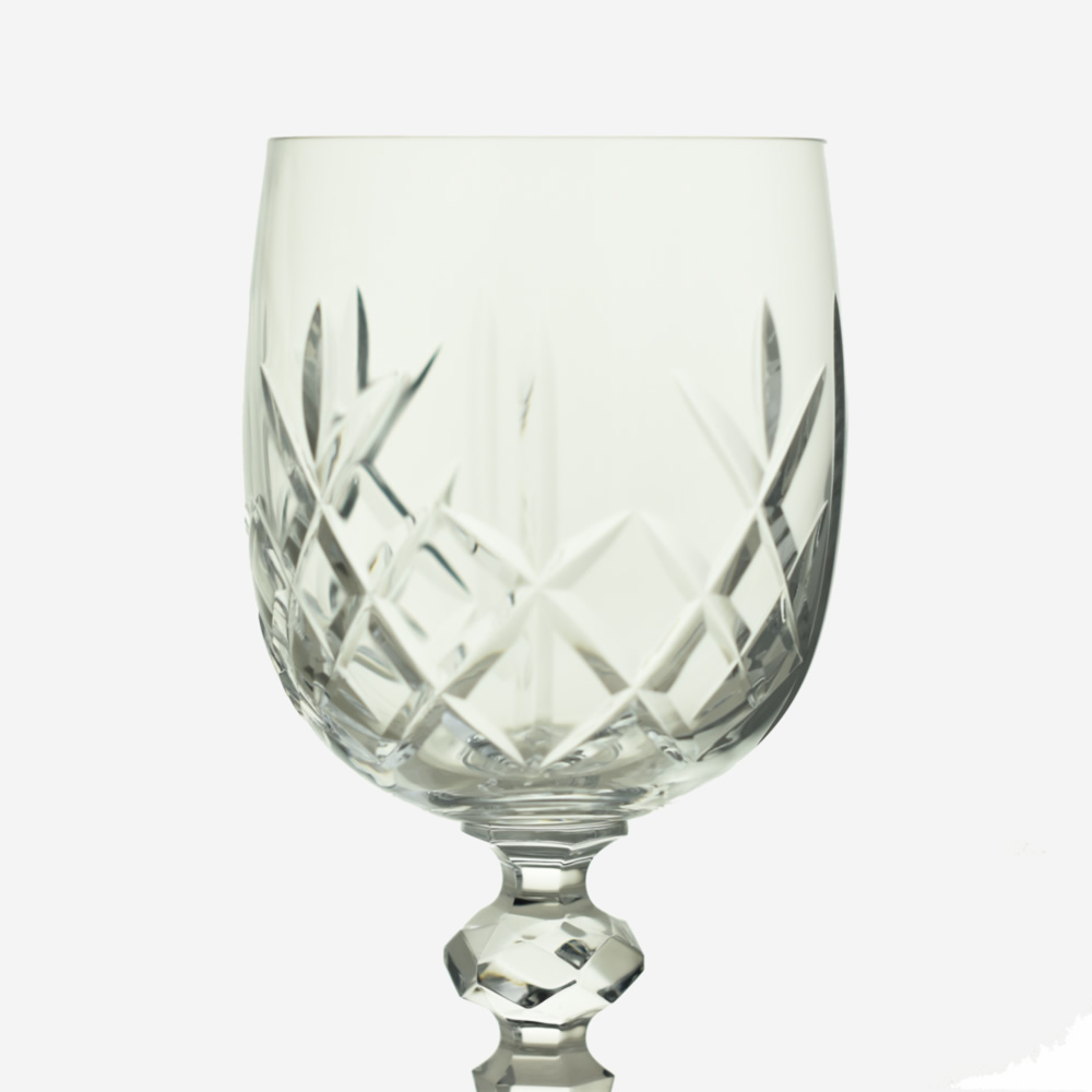 Engraved Crystal Wine Glass The Perfect Bridesmaids