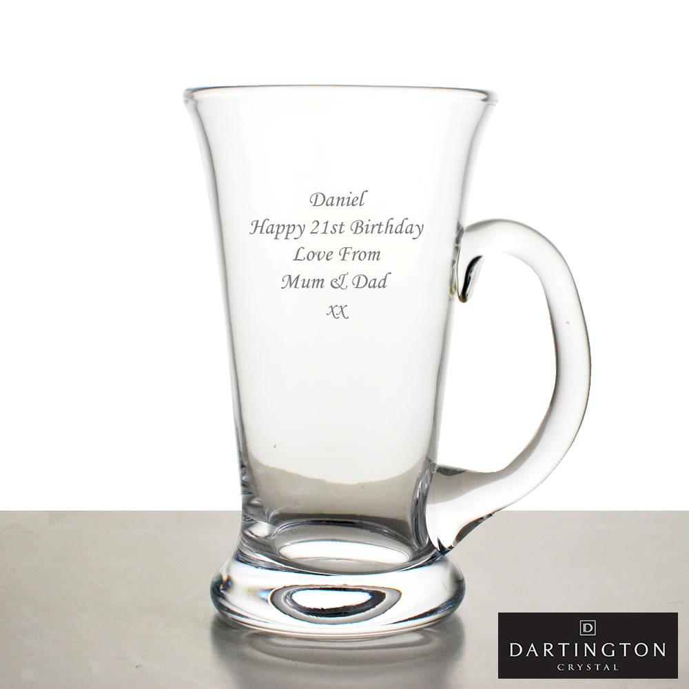 Dartington Glass Beer Tankard