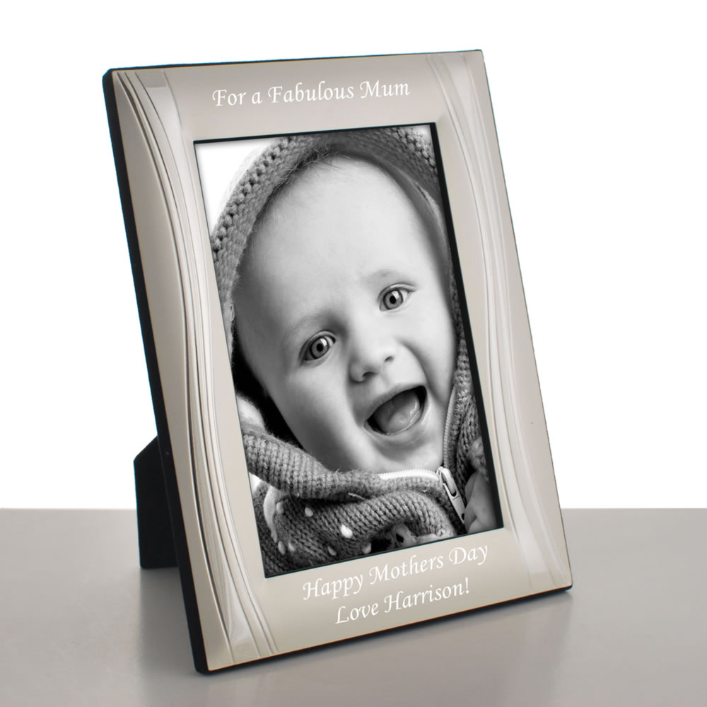 engraved photo frame 6x4 7x5 10x8 portrait next day delivery. Black Bedroom Furniture Sets. Home Design Ideas