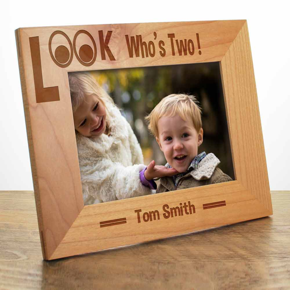Personalised Birthday Photo Frame Look Who S
