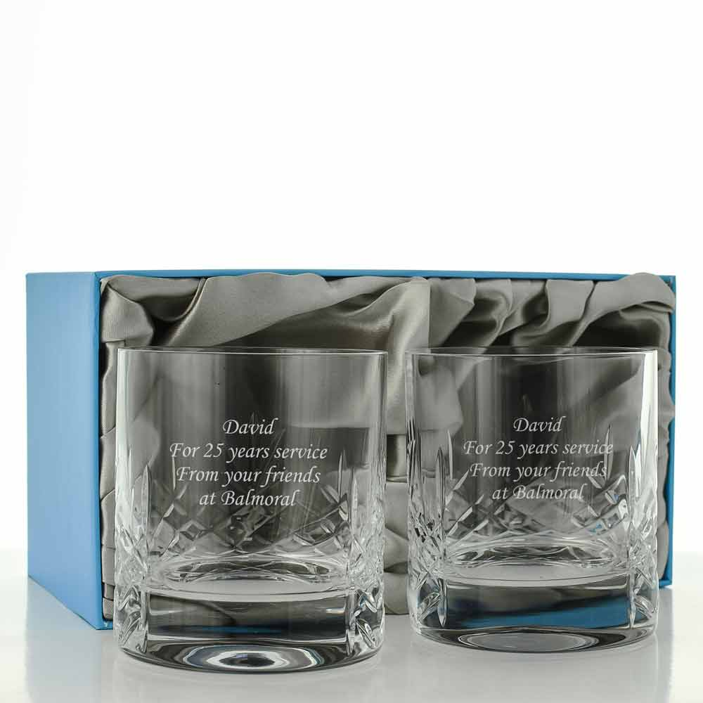 Mayfair Heavy Crystal Whisky Glass Set - Click Image to Close
