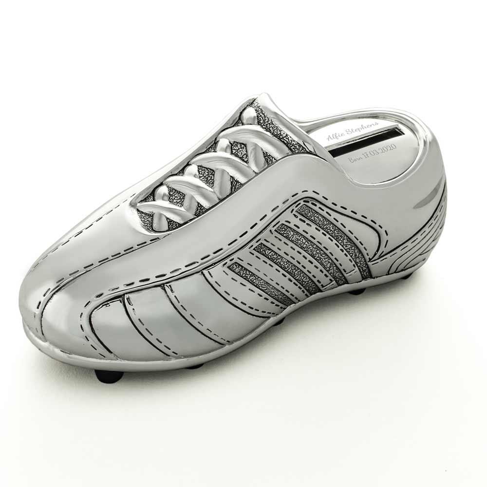 Football Boot Christening Gift