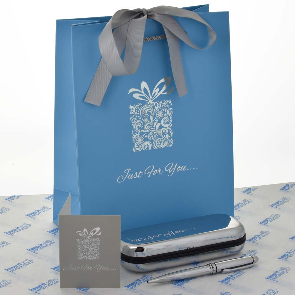 Wedding Gift Next Day Delivery : ... Black Friday Deals Silver Engraved Pen And Personalised Gift Box