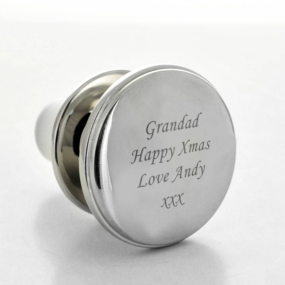 Custom Name And Date Wedding Wine Stopper For Bride Groom