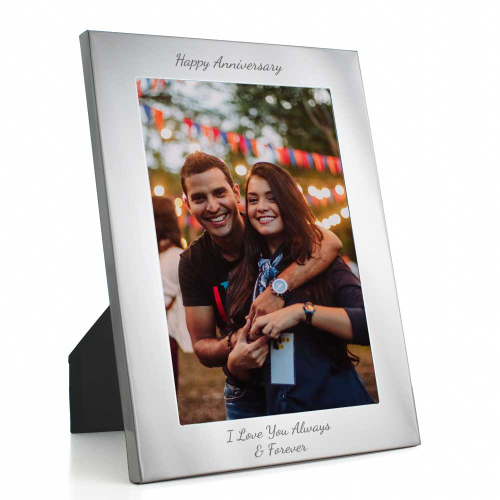 Engraved Silver Photo Frames Engraved Silver Photo Frames