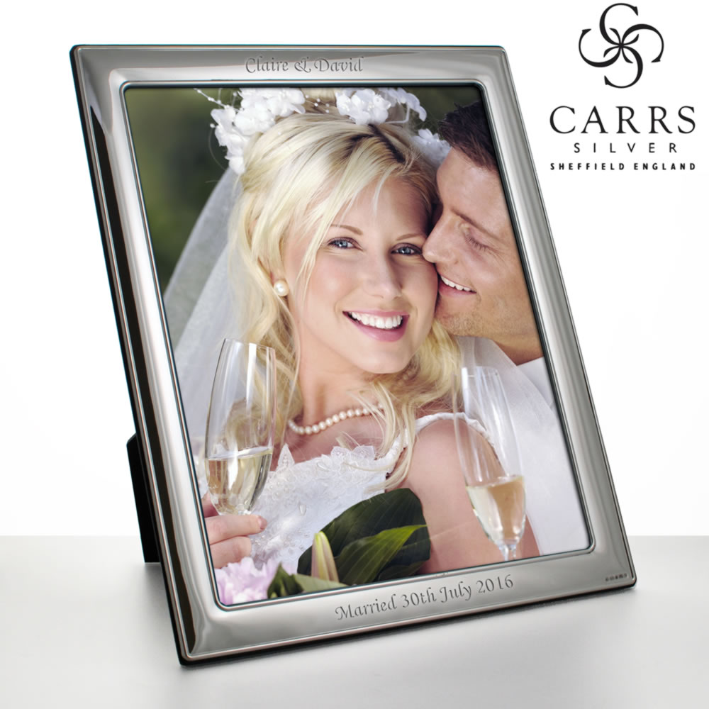Personalised Sterling Silver Photo Frame Engraved By Keep