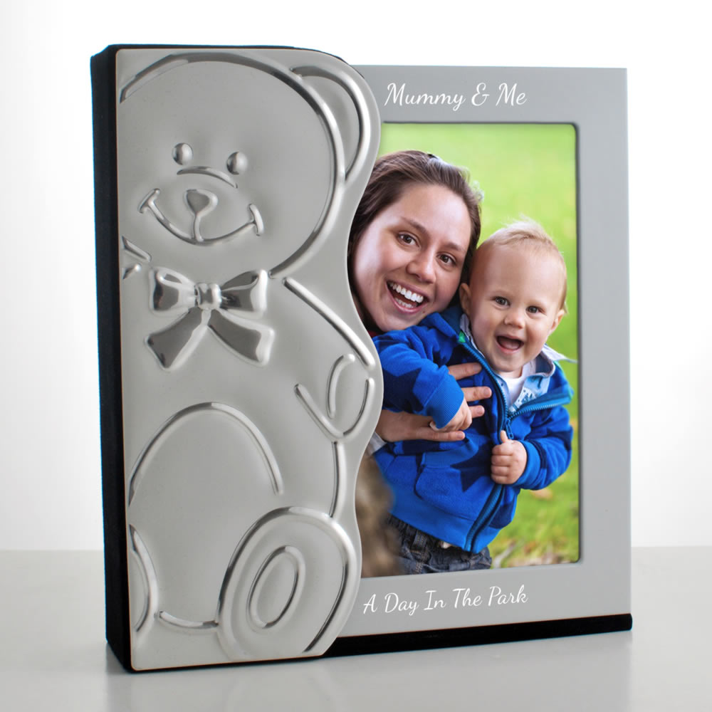 Teddy Personalised 6x4 Baby Photo Album